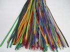 Pride Rainbow Leather 3mm Wide Falls Flogger